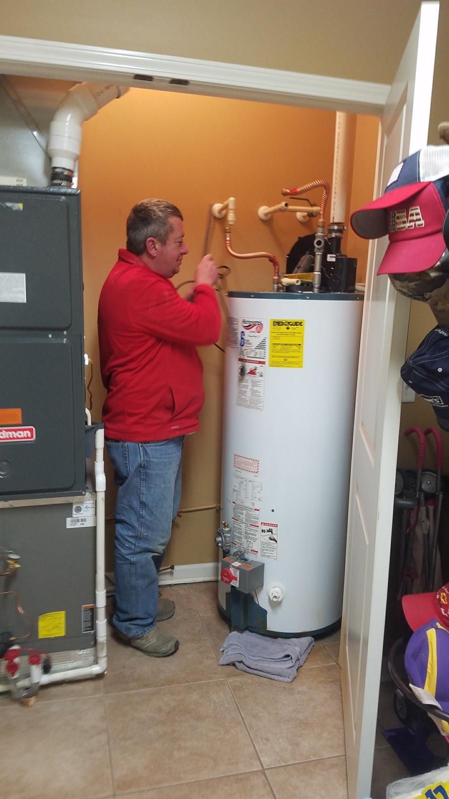 We not only rebuild water heaters, we install new heaters to!