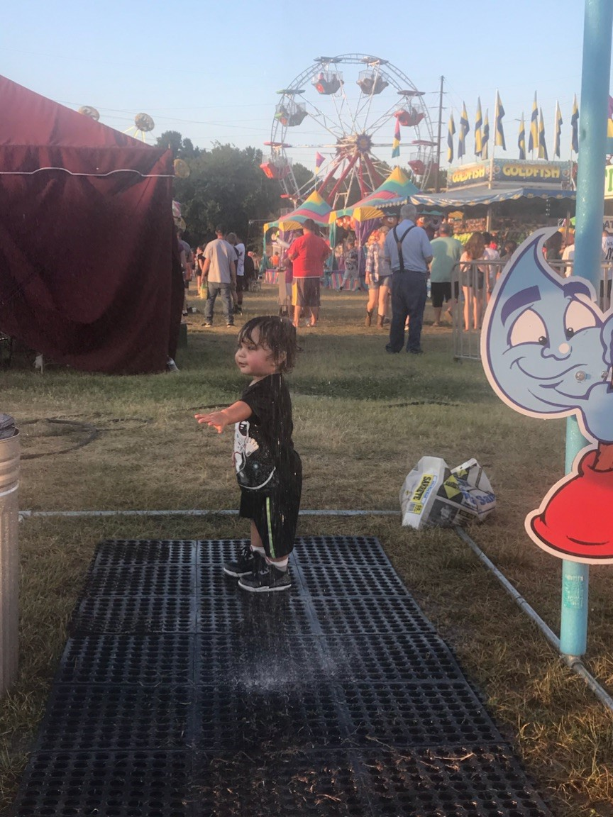 Mister / Soaker at Laclede County Fair in Lebanon, MO